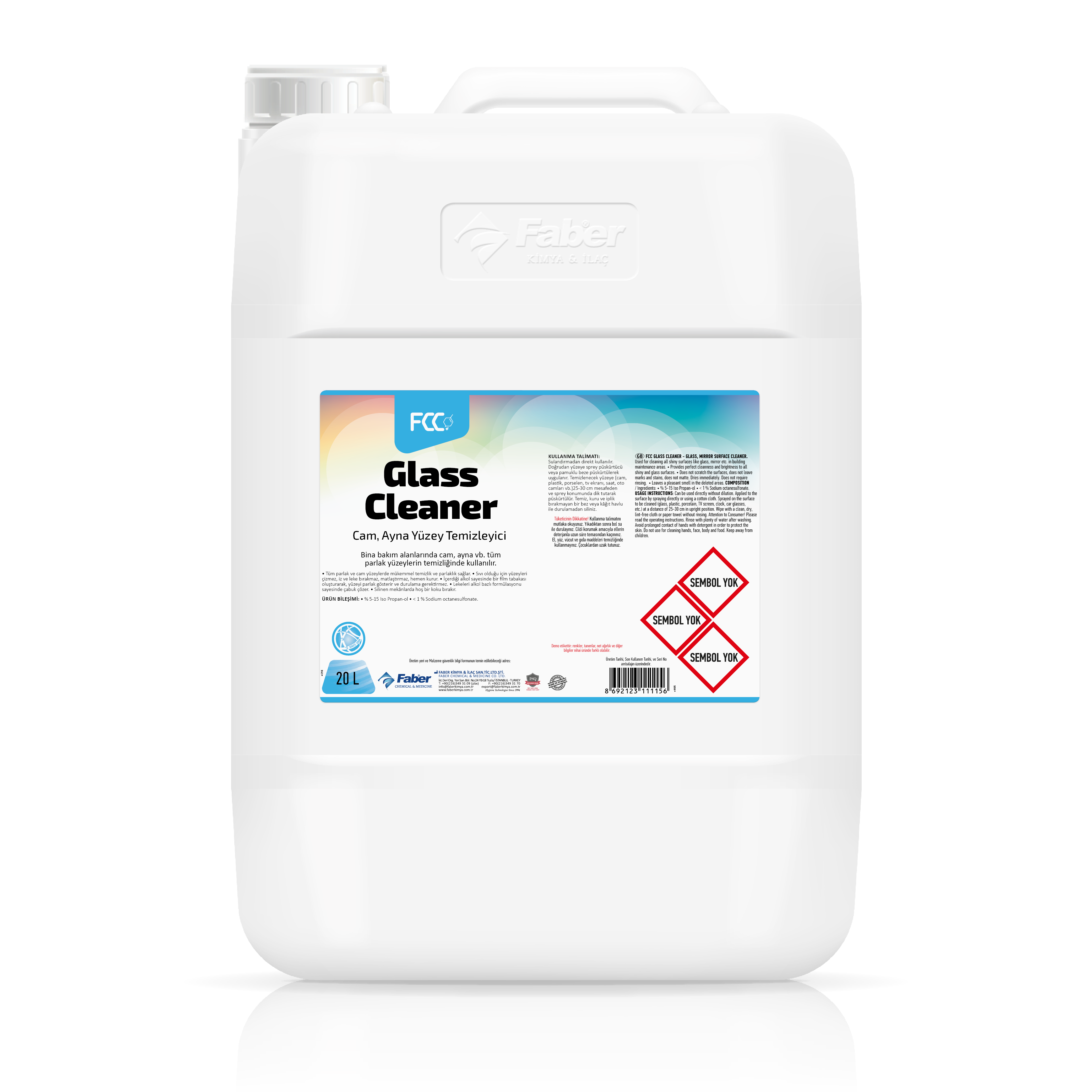 FCC Glass Cleaner