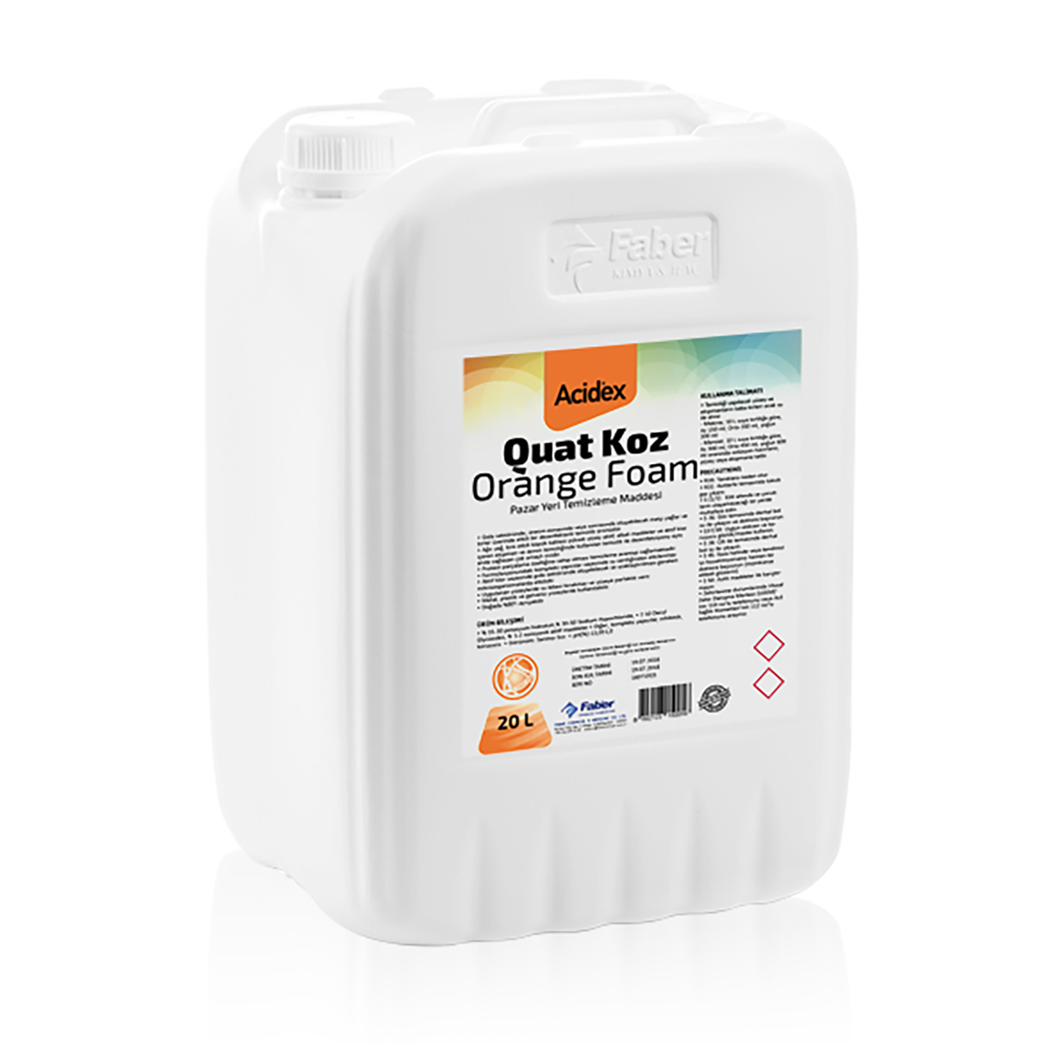 Acidex Quat Koz Orange Foam